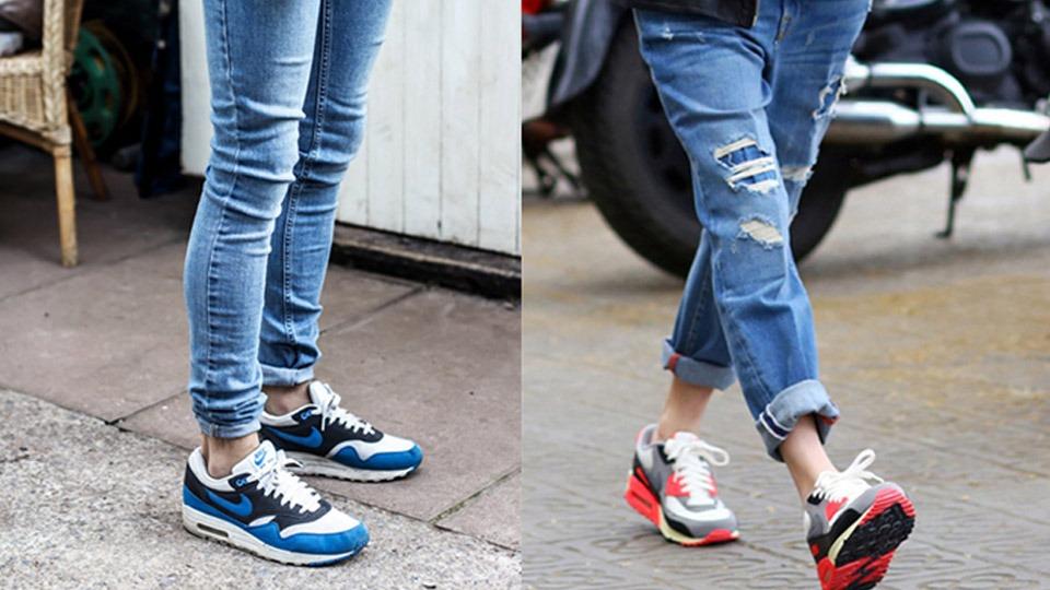chọn giày trẻ trung