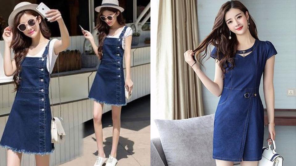 váy đầm jean