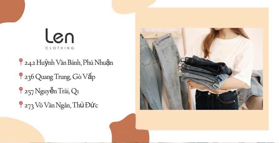 len clothing