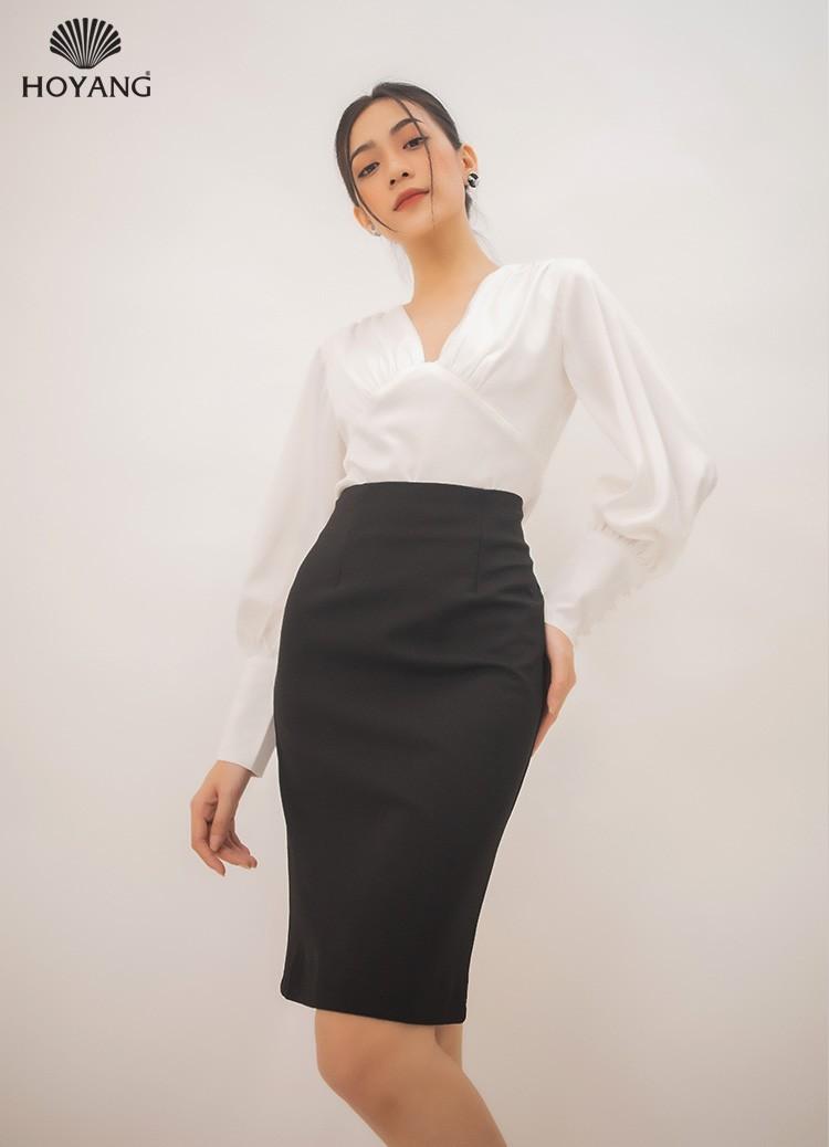áo công sở đẹp màu trắng