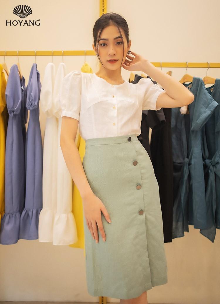 áo kiểu trắng nữ đẹp