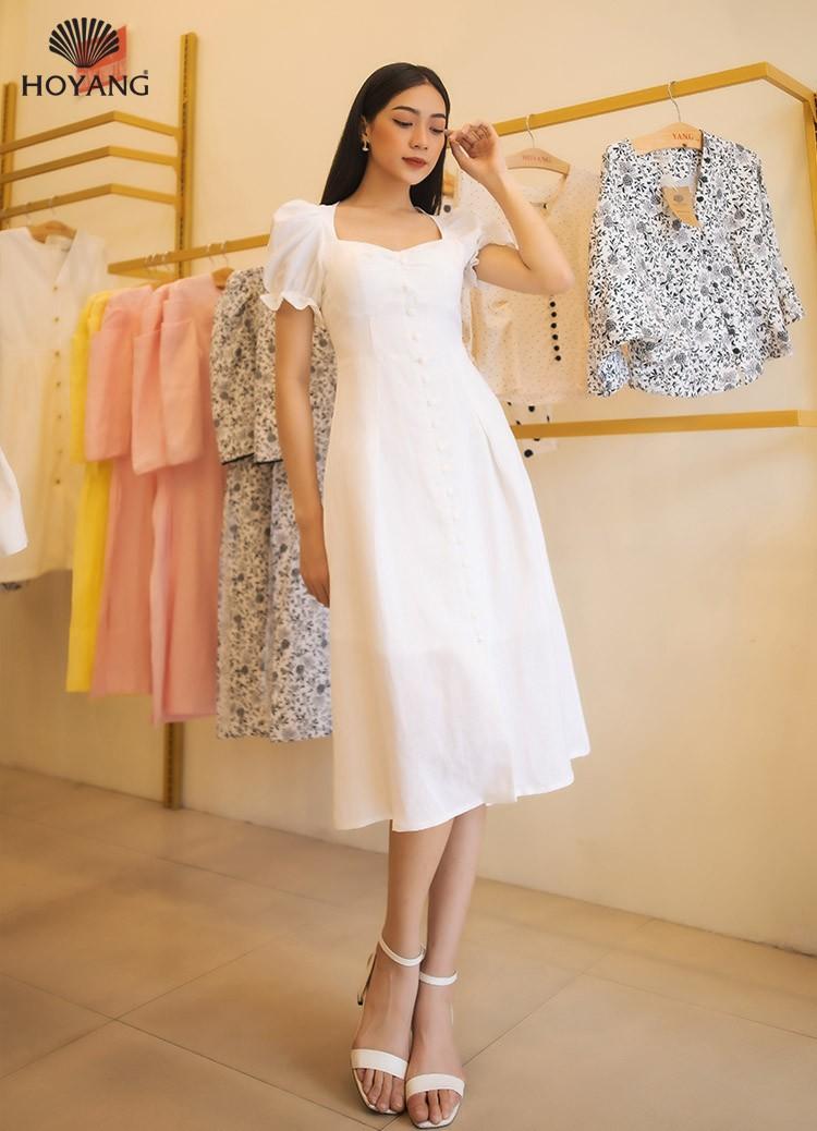 đầm trắng đẹp